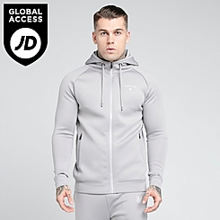 Men's SikSilk Fitted Hoodie