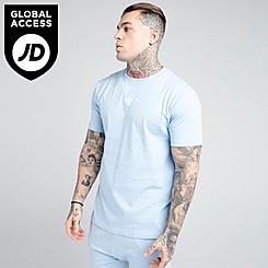Men's SikSilk Square Hem T-Shirt