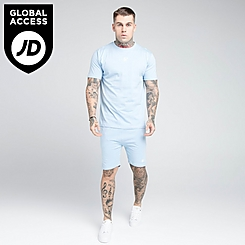 Men's SikSilk Fade Jersey Shorts