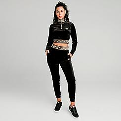 Women's SikSilk Velour Jogger Pants