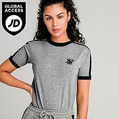 Women's SikSilk Ringer T-Shirt