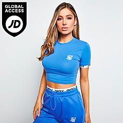 Women's SikSilk Velocity Crop T-Shirt