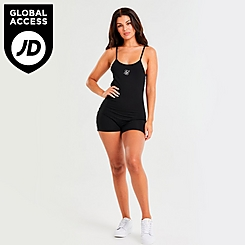 Women's SikSilk Side Tape Unitard Bodysuit