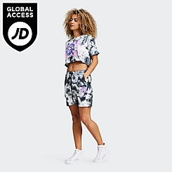 Women's SikSilk x Space Jam Tie-Dye Shorts