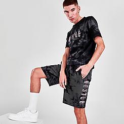 Men's Supply & Demand Fluro Tie-Dye Shorts