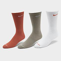 Nike Everyday Plus Lightweight Training Crew Socks (3 Pack)