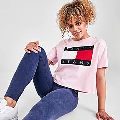 Women's Tommy Jeans Flag T-Shirt