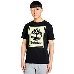 Men's Timberland Stack Logo T-Shirt