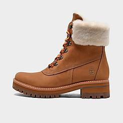 Women's Timberland Courmayeur Valley Waterproof 6 Inch Shearling Boots