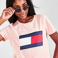 Women's Tommy Hilfiger Embroidered Crew T-Shirt