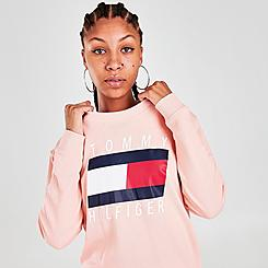 Women's Tommy Hilfiger Printed Crewneck Sweatshirt