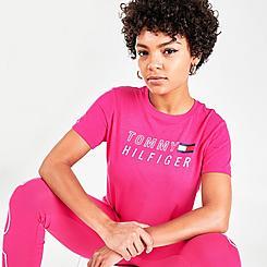 Women's Tommy Hilfiger Logo Crewneck T-Shirt