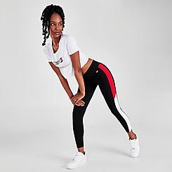 Women's Tommy Hilfiger Sport Colorblock High Rise Leggings