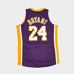 Mitchell & Ness NBA Los Angeles Lakers Kobe Bryant Hardwood Classics Authentic Jersey