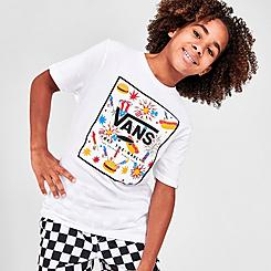 Boys' Vans Logo Print Box T-Shirt