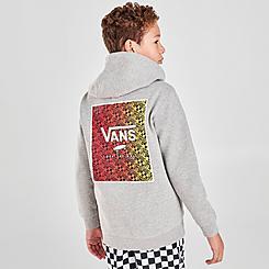Boys' Vans Print Box Pullover Hoodie