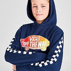 Boys' Vans OTW Check Pullover Hoodie