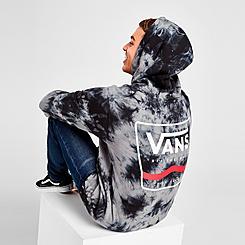 Vans Box Logo Tie-Dye Side Stripe Hoodie