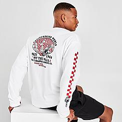 Men's Vans Checkerboard World Long-Sleeve T-Shirt