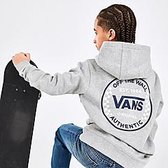 Kids' Vans Authentic Checker Pullover Hoodie