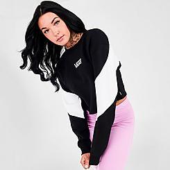 Women's Vans Bladez Crop II Crewneck Sweatshirt