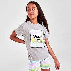 Girls' Vans Skull Box T-Shirt