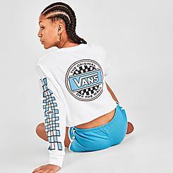 Women's Vans Bold Standard Crop Long-Sleeve T-Shirt