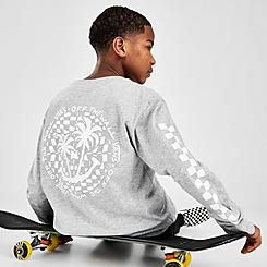 Boys' Vans Checker Palms Long-Sleeve T-Shirt
