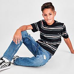 Boys' Vans Harrington Stripe T-Shirt