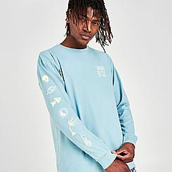 Men's Vans Jank Ditsy Long-Sleeve T-Shirt