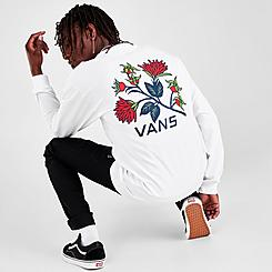 Men's Vans Low Point Floral Long-Sleeve T-Shirt