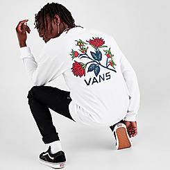 Men's Vans Low Point Floral Long-Sleeve T-Shirt
