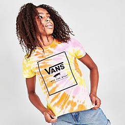 Girls' Vans Whiplash Tie-Dye T-Shirt