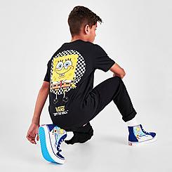 Boys' Vans x SpongeBob SquarePants Spotlight Pocket T-Shirt