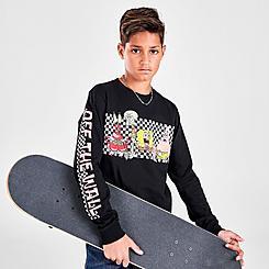 Boys' Vans x SpongeBob SquarePants Characters Long-Sleeve T-Shirt