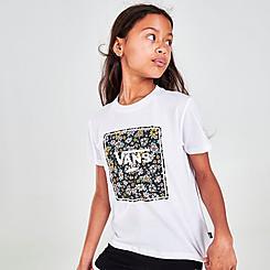 Girls' Vans Print Box Logo T-Shirt