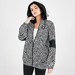 Women's New Balance Athletics Animal Print Mix Windbreaker Jacket