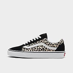 Women's Vans Old Skool Animal Casual Shoes