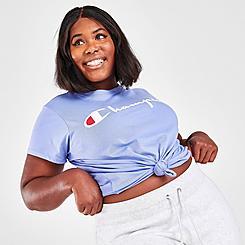 Women's Champion Script T-Shirt (Plus Size)