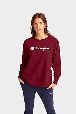 Women's Champion Life Long-Sleeve Boyfriend T-Shirt