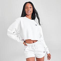 Women's Champion Reverse Weave Crop Crewneck Sweatshirt