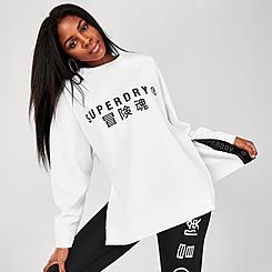 Women's Superdry Graphic Crewneck Sweatshirt