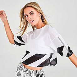 Women's Superdry Mesh Cropped Top