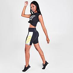 Women's Superdry Lock-Up Bike Shorts