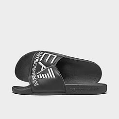 Men's EA7 Emporio Armani Slide Sandals